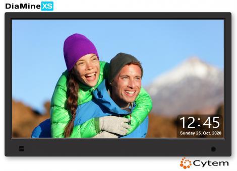Cytem DiaMine XS 13 IPS in 16:9 | Sensor |  Schwarz