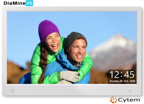 Cytem DiaMine XS 13 IPS in 16:9 | Sensor |  Silber