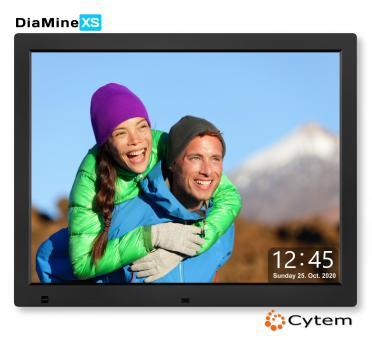 Cytem DiaMine XS 15 in 4:3, mattes Display / Schwarz