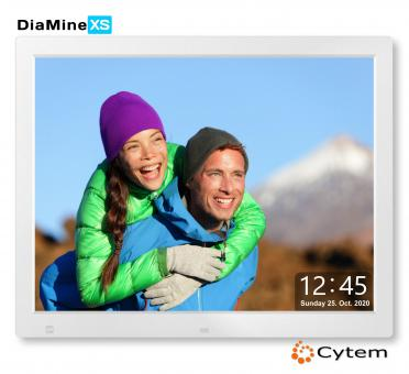 Cytem DiaMine XS 15 in 4:3, mattes Display / Silber