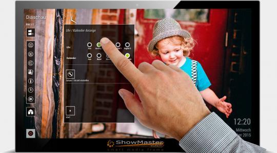 ShowMaster-14 V3 Full-HD Digitalbilderrahmen