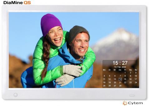Cytem DiaMine QS 13sw IPS in 16:9 | Sensor |  Silber
