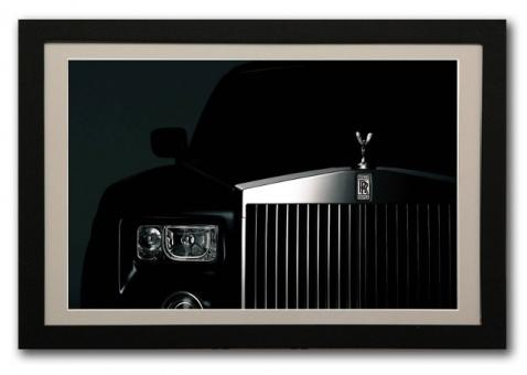 FrameXX PRO 650 - 65 Zoll (165cm) Full-HD IPS Bildschirm m. WiFi - Rahmen in Schwarz