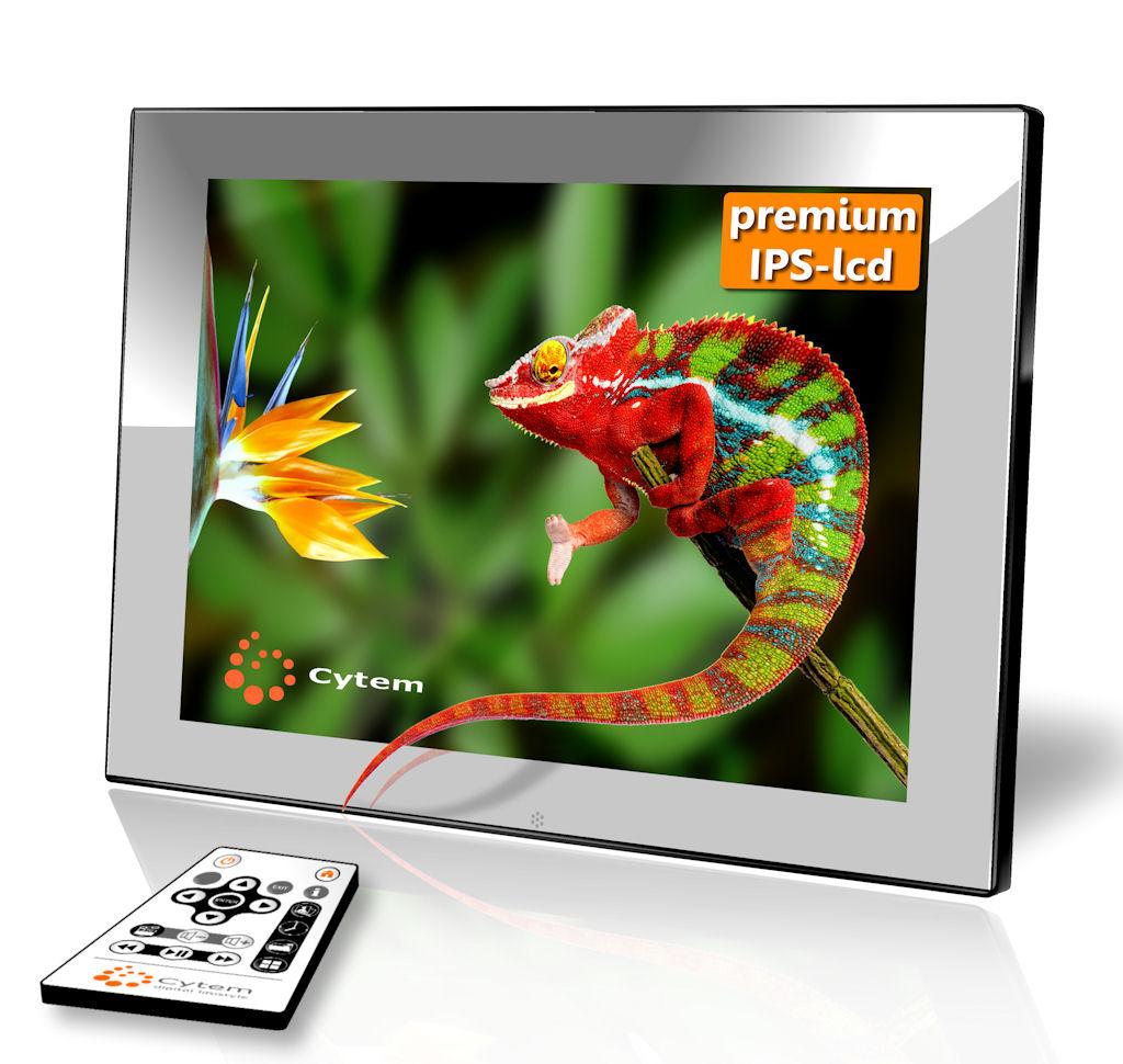 Cytem | Digitale Bilderrahmen | Cytem DiaMine 8i IPS in 4:3 / Acryl ...